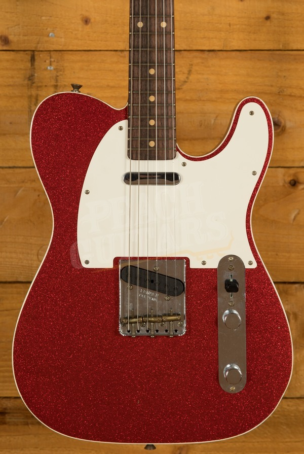 Fender Custom Shop '60 Tele Custom Journeyman Red Sparkle