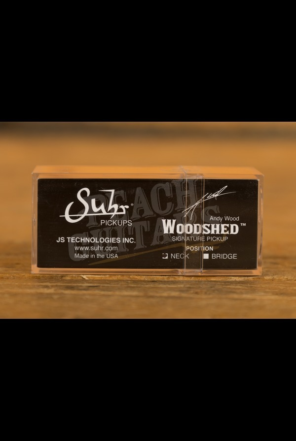 Suhr Woodshed T-Style Single Coil Pickup Neck Raw Nickel