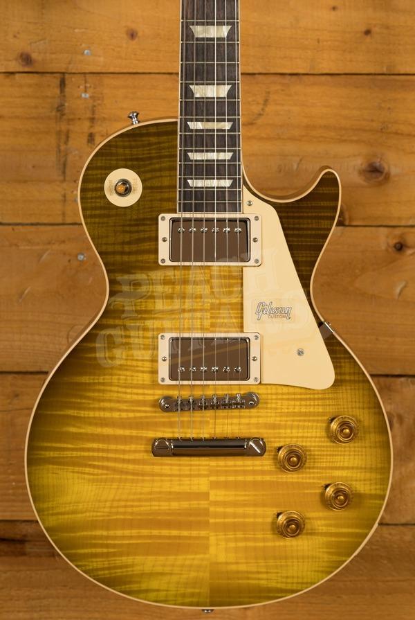 Gibson Custom 60th Anniversary '59 Les Paul Green Lemon Fade Gloss