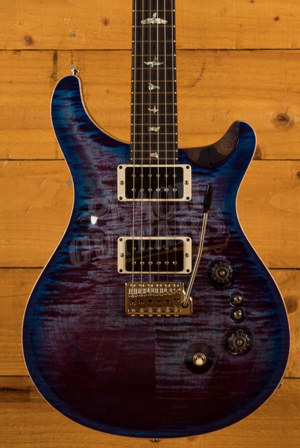 PRS 35th Anniversary Custom 24 Violet Blueburst Pattern Thin 85/15