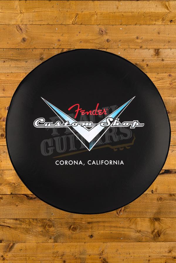 Fender Custom Shop Pinstripe Logo Bar Stool 24 inch