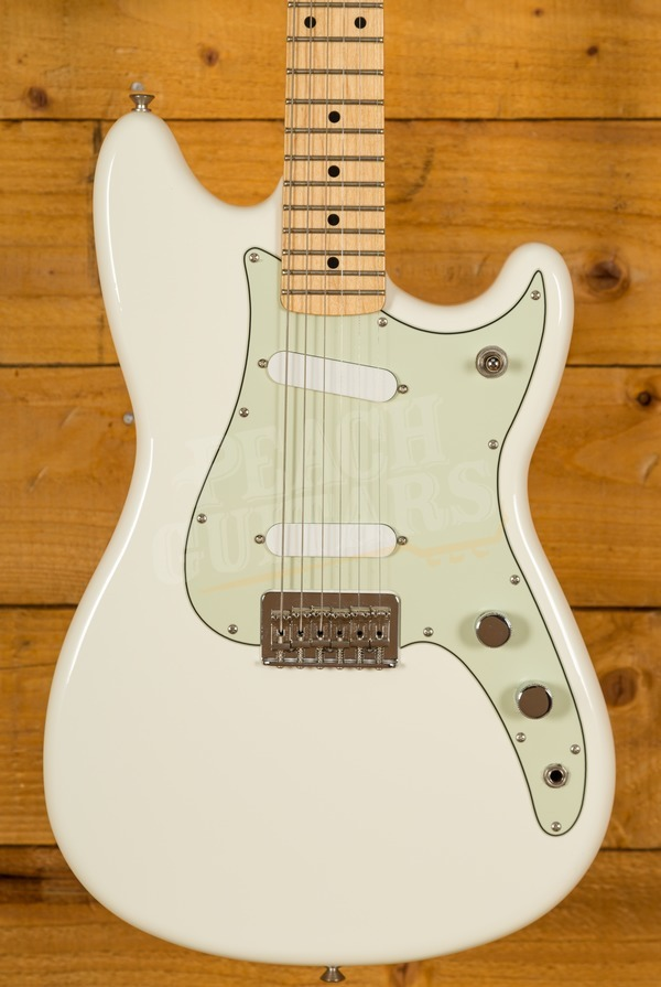 Fender Duo-Sonic Maple Neck Arctic White