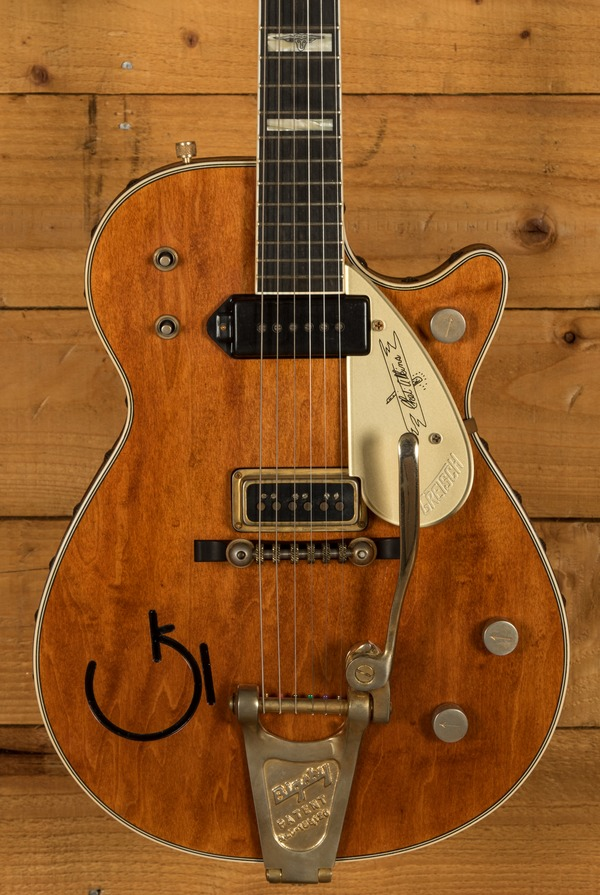 Gretsch USA Masterbuilt G6121T Chet Atkins Orange Relic
