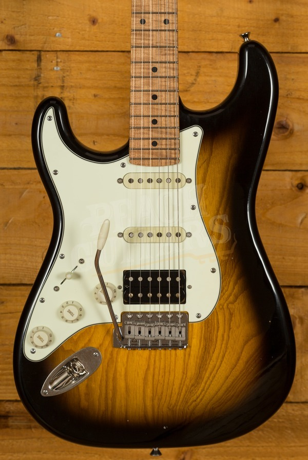 Xotic California Style Classic XSC-2 2 Tone Burst Light Aged Left Handed