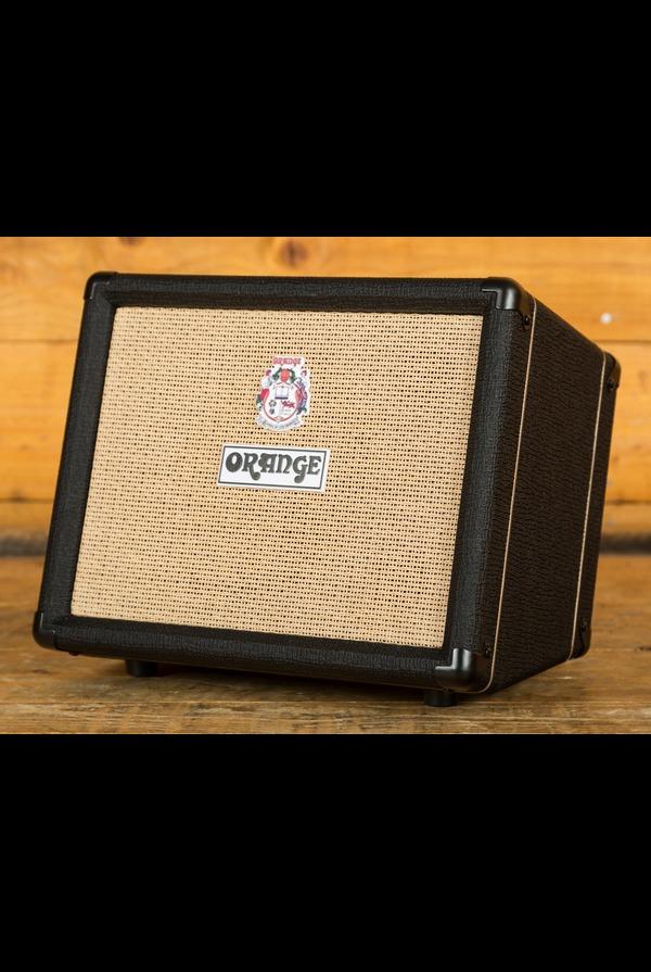 "Orange Crush Acoustic 30: Twin Channel 30w 1 x 10"" Acoustic Combo, Black"
