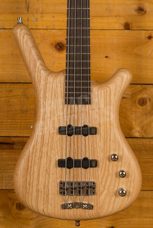 Warwick GPS Corvette Ash 4-String Active - Natural Transparent Satin