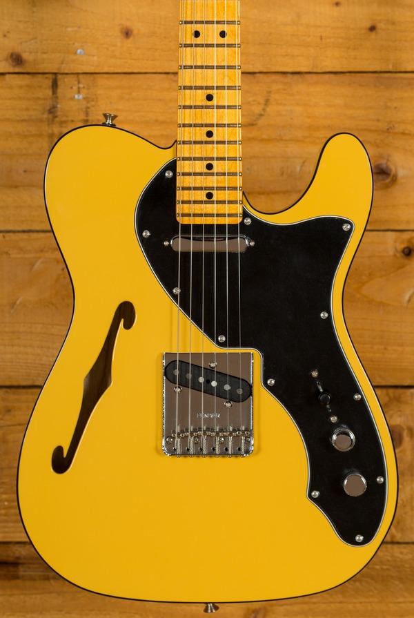 Fender Britt Daniel Tele Thinline Maple Neck Amarillo Gold