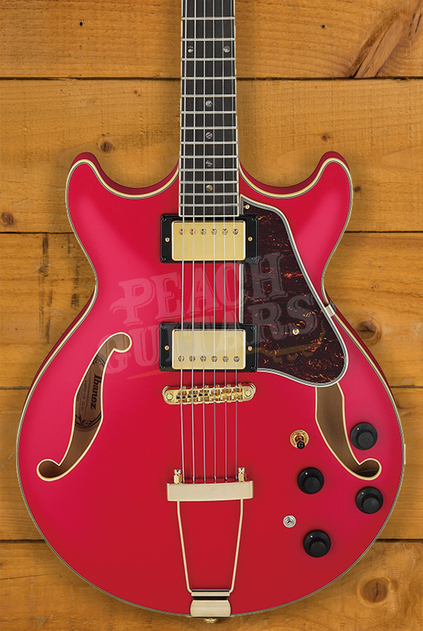 Ibanez Artcore Expressionist AMH90-CRF Cherry Red Flat