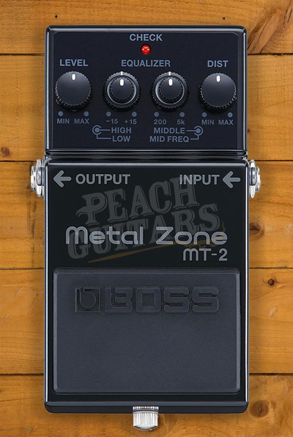 Boss MT-2 Metal Zone 30th Anniversary Model