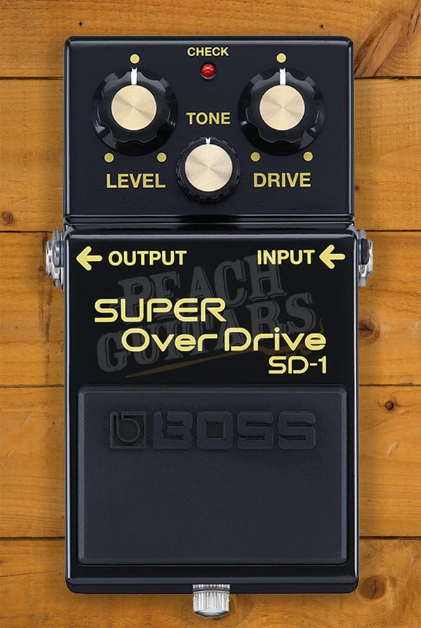 Boss SD-1 Super Overdrive 40th Anniversary Model