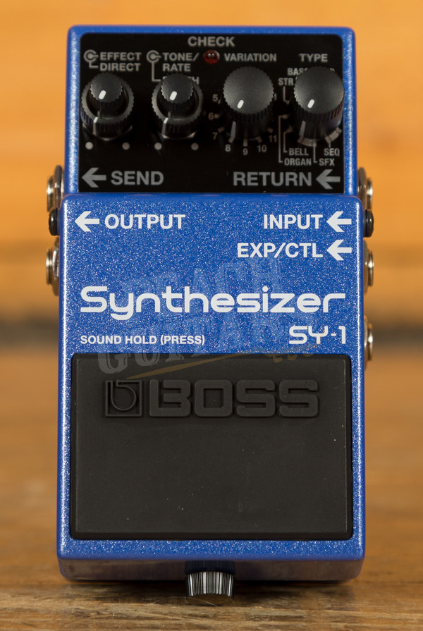Boss SY-1 Synthesiser Guitar Effects Pedal