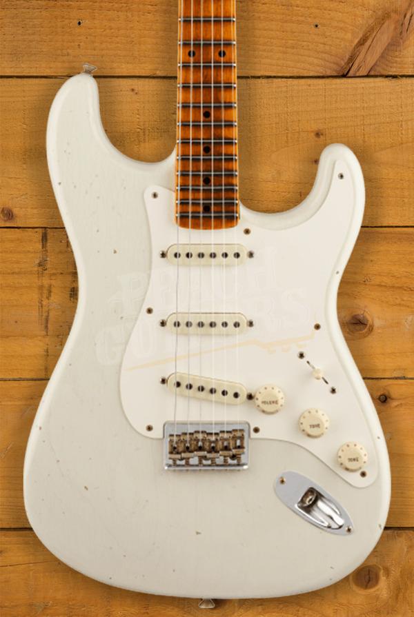 Fender Custom Shop Limited Edition 1957 Strat Hardtail Journeyman Relic India Ivory