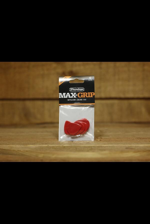 Dunlop Picks - Max-Grip Jazz III - Players Pack