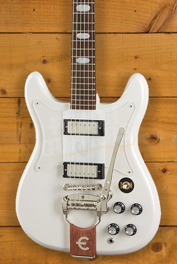 Epiphone Crestwood Custom (Tremotone) Polaris White