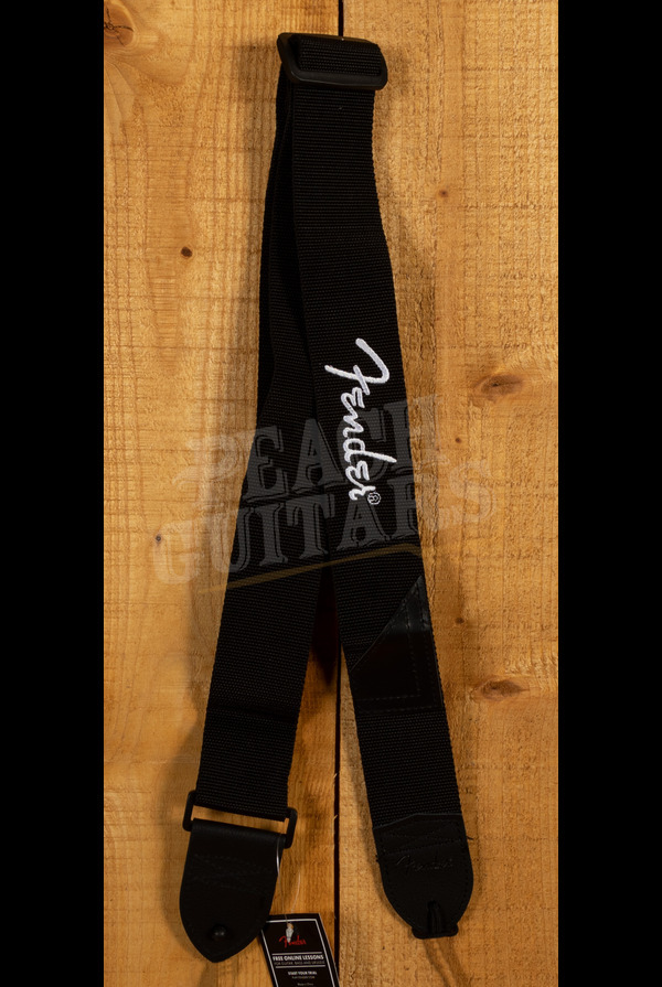 "Fender 2"" Black Poly Strap"