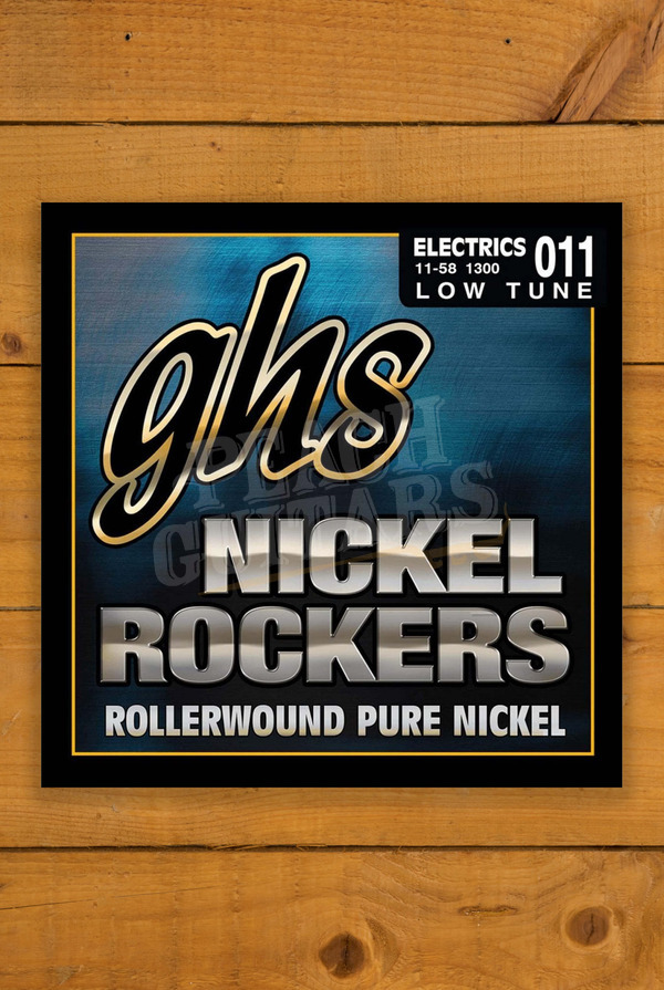 GHS Nickel Rocker Lo-Tune 11-58