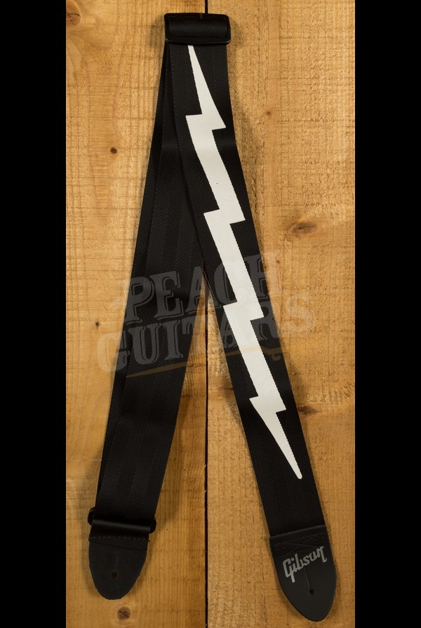 Gibson The Lightning Bolt Seatbelt Strap (Black)