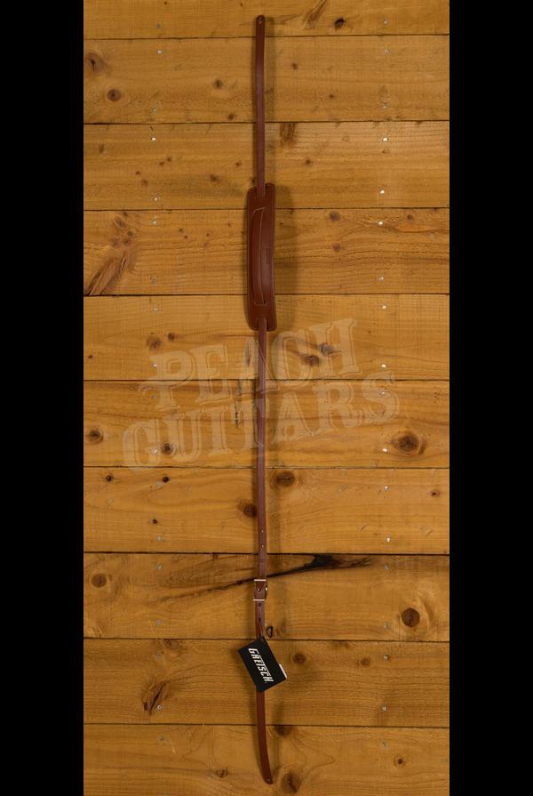 Gretsch Gretsch Vintage Leather Guitar Strap, Walnut