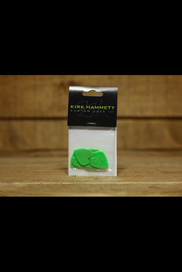 Dunlop Picks - Kirk Hammett Jazz III - Players Pack