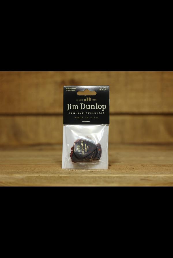 Jim Dunlop Tortoise Shell 12 Pack Celluloid