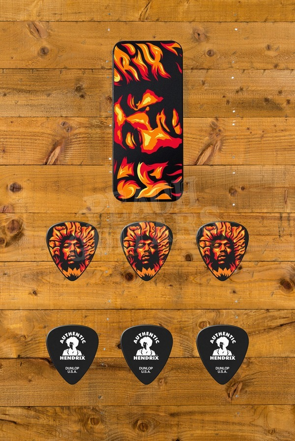 Dunlop Picks - Jimi Hendrix Pick Tin