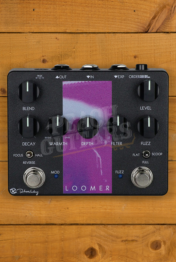 Keeley Loomer Wall of Fuzz/Reverb pedal