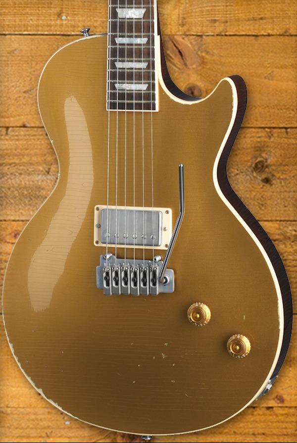 """Gibson Custom Joe Perry """"Goldrush"""" Les Paul Axcess"""