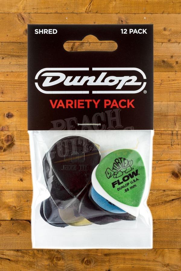Dunlop Picks - Variety - Shred - Player Pack 12