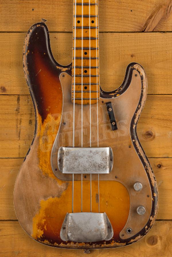 Fender Custom Shop 1958 P-Bass Heavy Relic MB Vincent Van Trigt Faded Chocolate 3TSB
