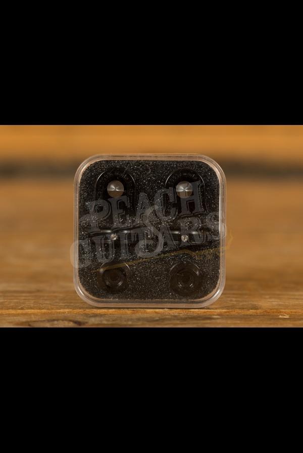 Schaller Guitar S-Lock Pair Black Chrome