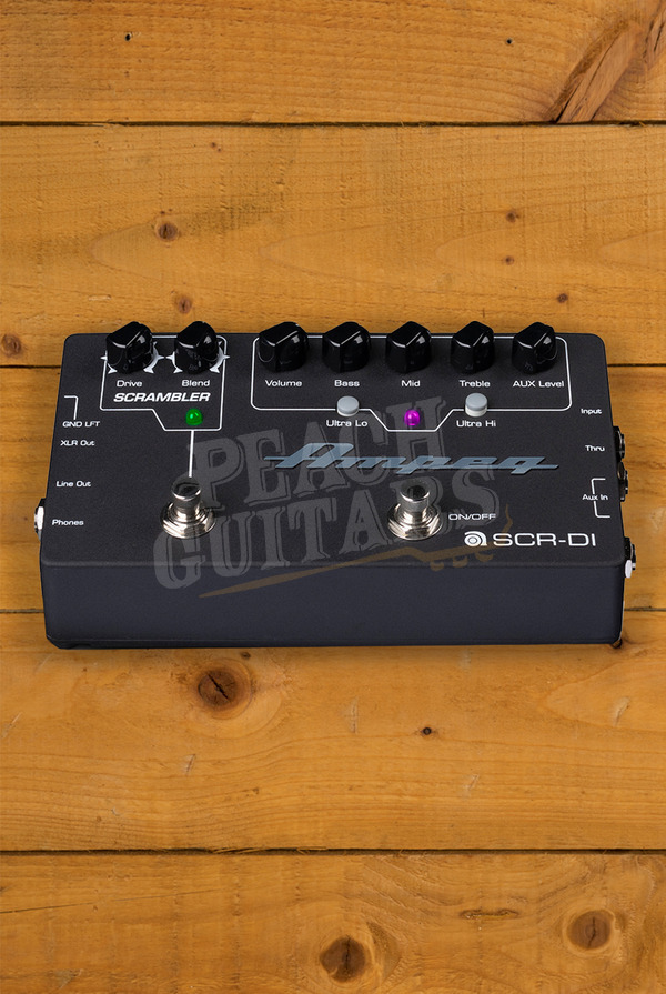 Ampeg SCR-DI Bass DI with Scrambler Overdrive