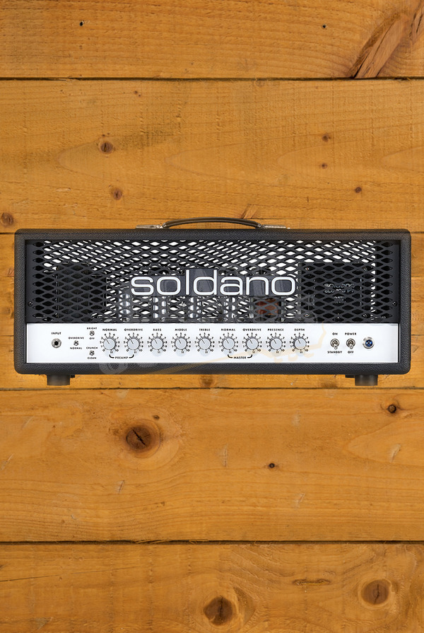 Soldano SLO-100 Classic Super Lead Overdrive - 100w Head Black Tolex