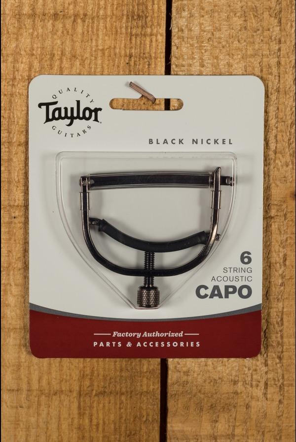Taylor Capo 6 String Black Nickel
