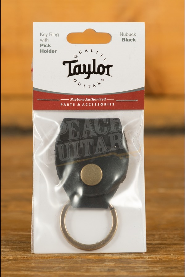 Taylor - Keyring w/Pick Holder, Nubuck Black