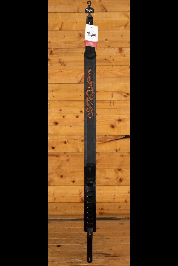 Taylor Nouveau Strap Black Leather