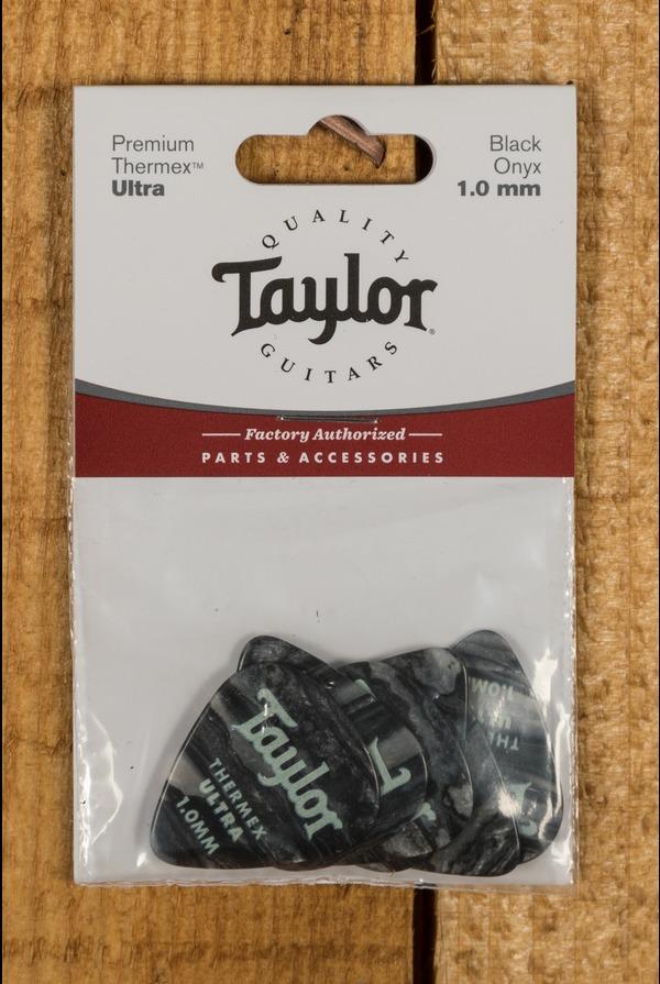 Taylor Premium 351 Thermex Ultra Picks Black Onyx 1.0