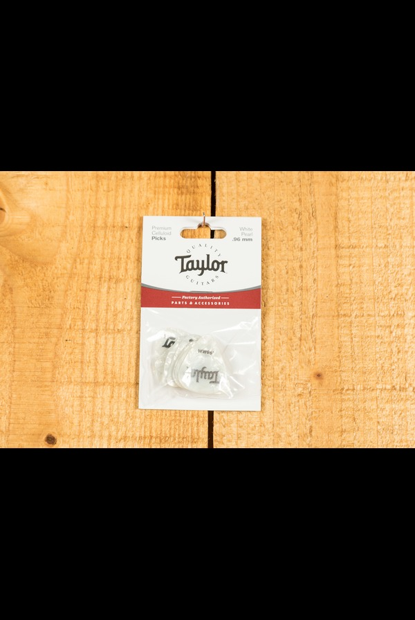 Taylor Celluloid 351 Picks White Pearl 0.96