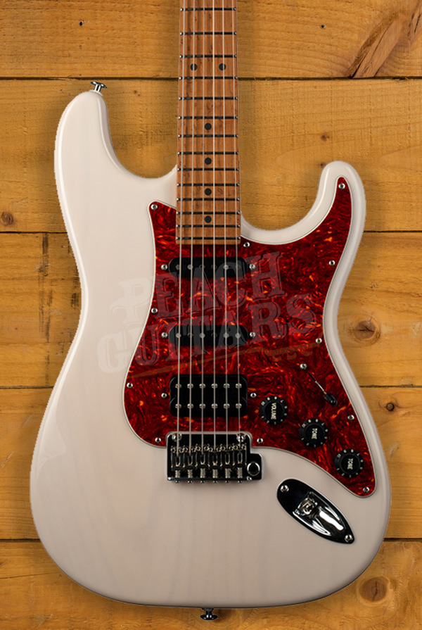 Suhr Limited Edition Classic S Paulownia Trans White HSS