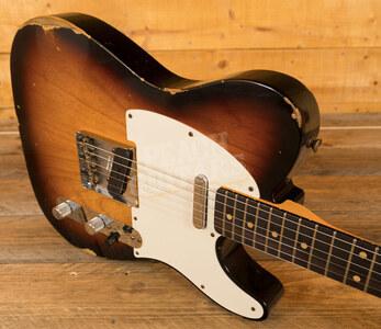 Fender Custom Shop '60 Tele Relic Faded Aged 3 Tone Sunburst