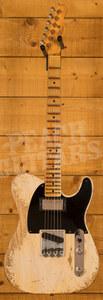 Fender Custom Shop Limited '51 Tele HS Super Heavy Relic Aged White Blonde