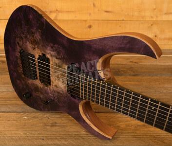 Mayones Duvell Elite 7 Trans Natural Fade Purple Burst Satine