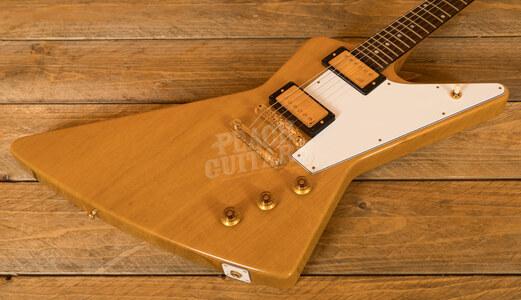 Gibson Custom Shop 1958 Korina Explorer White Pickguard VOS Historic Collection