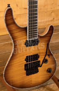 Mayones Regius Pro 6 Amber 2-Tone Burst
