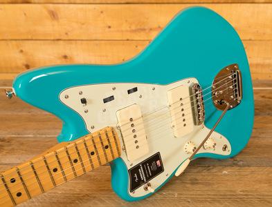 Fender American Professional II Jazzmaster Left-Hand Miami Blue Maple