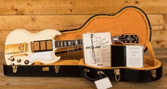 Gibson Custom 60th Anniversary '61 Les Paul SG Custom VOS Classic White