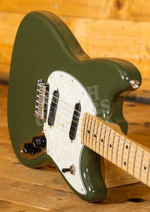 Fender Mustang Maple Olive