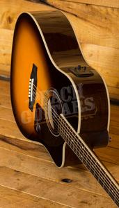 Epiphone AJ-220SCE Solid Top Electro Acoustic Vintage Sunburst