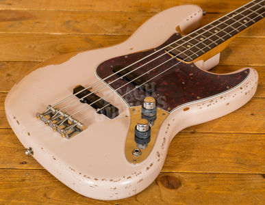 Fender Flea Signature Jazz Bass Roadworn Shell Pink