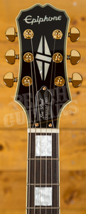 Epiphone Les Paul Custom Pro - Ebony Gold Hardware