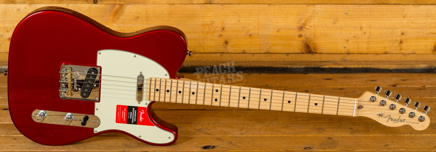 Fender American Pro Tele Candy Apple Red